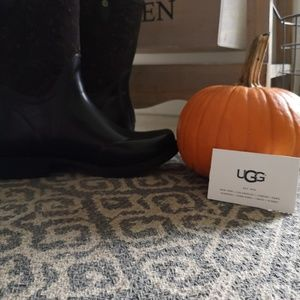UGG rubber boots